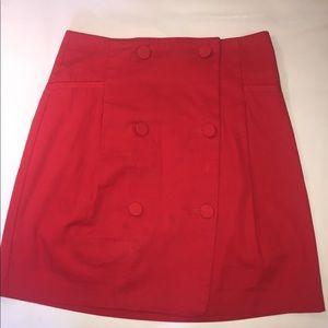 Mcqueen alexander mcqueen Red Skirt IT 44 US 8